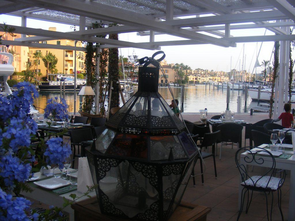 Restaurante Molino del Conde en Sotogrande
